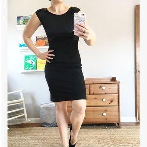 Theory classic black sheath dress